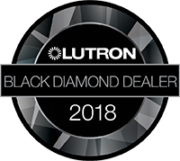 Lutron Black Diamond Dealer logo