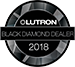 Lutron Black Diamond logo
